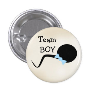 Funny Gender Reveal Party Button