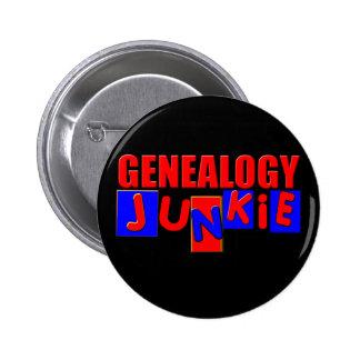 Funny Genealogy Pinback Button