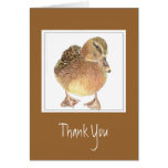 Funny, General - Thank You -  Duck Greeting Card