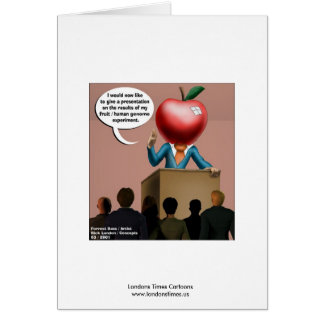 Funny Genome Experiment Quality Greeting Card