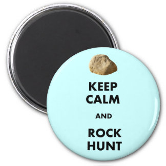"""Funny Geologist Gifts """"Keep Calm and...."""" Fridge Magnet"""