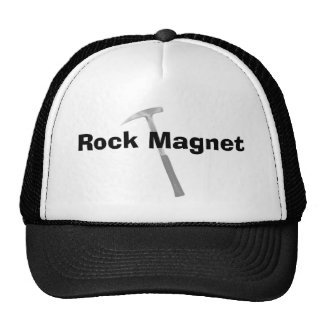 Funny Geologist Gifts Rock Manget Trucker Hat