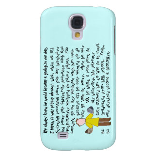 Funny Geologist Story Art Speck case