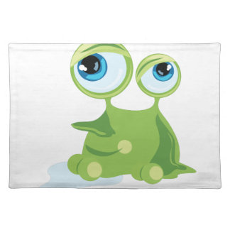 Funny Germ Cloth Place Mat