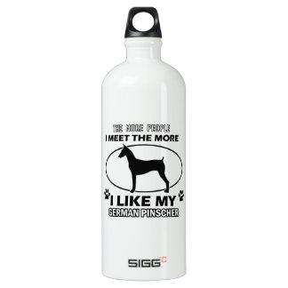 Funny german pinscher designs SIGG traveler 1.0L water bottle