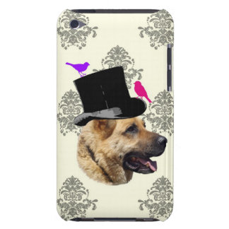 Funny German shepherd dog Barely There iPod Case