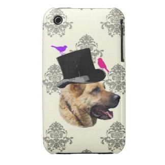 Funny German shepherd dog iPhone 3 Case-Mate Case
