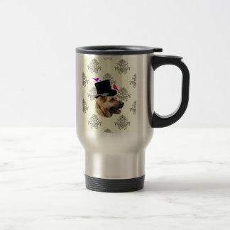 Funny German shepherd dog Travel Mug
