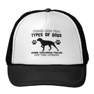 Funny german shorthair pointer designs trucker hat
