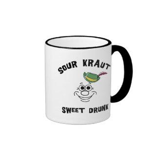 Funny German Sour Kraut Sweet Drunk Mug