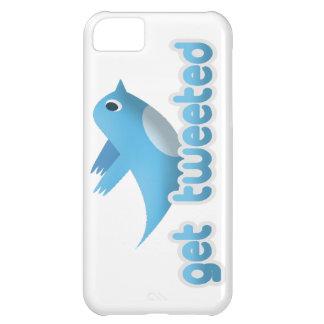 Funny Get Tweeted Twitter Bird iPhone 5 Case