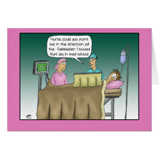 Funny Get Well Cards: Operation Get Well Card