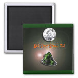 Funny Get Your Green On Magnet