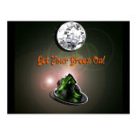 Funny Get Your Green On Postcards