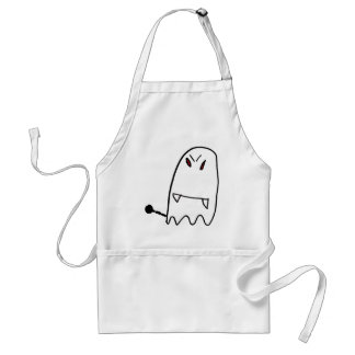 Funny Ghost Adult Apron