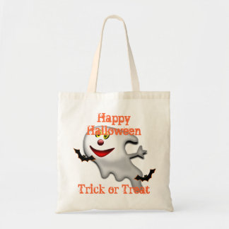 funny ghost cartoon  trick or  treat bags