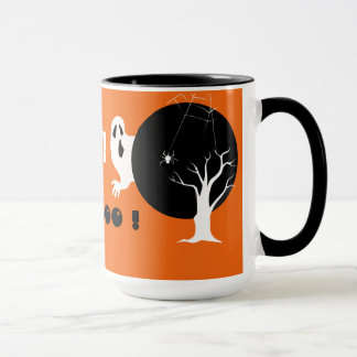 Funny Ghost design Halloween Party Mugs