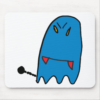 Funny Ghost Mouse Pad