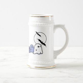 Funny Ghosts. Halloween Gift Beer Mugs