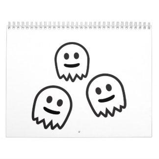 Funny Ghosts Monster Calendar