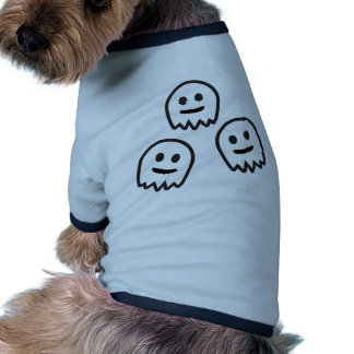 Funny Ghosts Monster Dog T-shirt