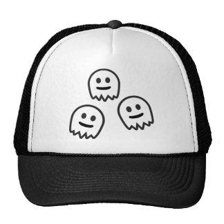 Funny Ghosts Monster Trucker Hats