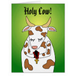 Funny Giant Birthday Card Template Holy Cow Ur Old