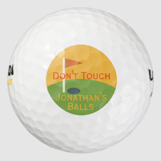 Funny Gift for the Golfer, Golf Balls