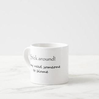 Funny gifts coffeemugs espresso mug unique gift 6 oz ceramic espresso cup