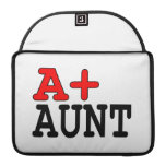 Funny Gifts for Aunts : A+ Aunt Sleeves For MacBooks