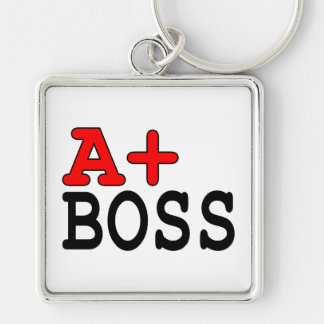 Funny Gifts for Bosses : A+ Boss Keychain