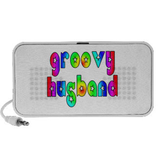 Funny Gifts for Cool Husbands : Groovy Husband Mini Speakers