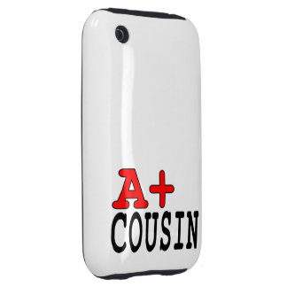 Funny Gifts for Cousins : A+ Cousin iPhone 3 Tough Cover