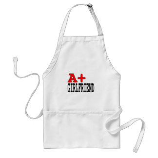 Funny Gifts for Girlfriends : A+ Girlfriend Adult Apron