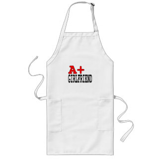 Funny Gifts for Girlfriends : A+ Girlfriend Long Apron