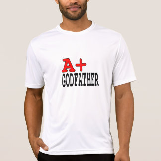 Funny Gifts for Godfathers : A+ Godfather Tee Shirts