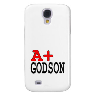 Funny Gifts for Godsons : A+ Godson Samsung Galaxy S4 Cover