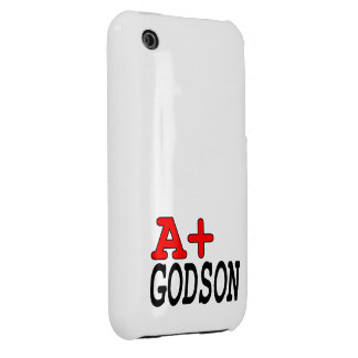 Funny Gifts for Godsons : A+ Godson iPhone 3 Cover