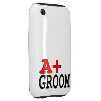 Funny Gifts for Grooms : A+ Groom Tough iPhone 3 Cover