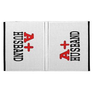 Funny Gifts for Husbands : A+ Husband iPad Folio Cases