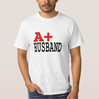 Funny Gifts for Husbands : A+ Husband T Shirt