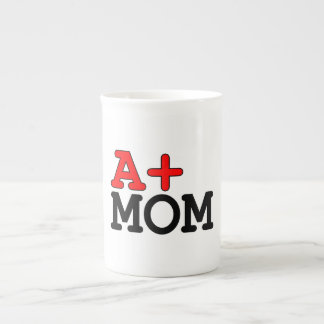 Funny Gifts for Moms A+ Mom Porcelain Mugs