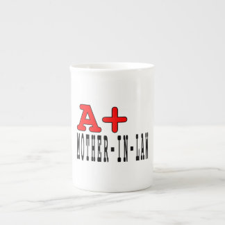 Funny Gifts for Mothers in Law A+ Mother in Law Porcelain Mug