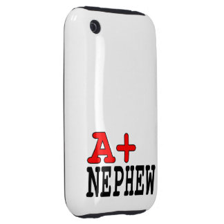 Funny Gifts for Nephews : A+ Nephew iPhone 3 Tough Cases