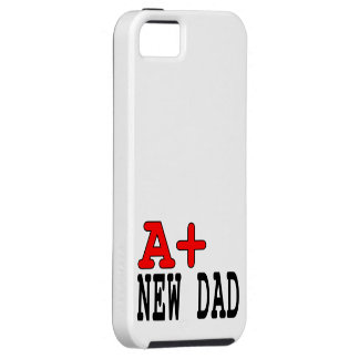 Funny Gifts for New Dads : A+ New Dad iPhone SE/5/5s Case