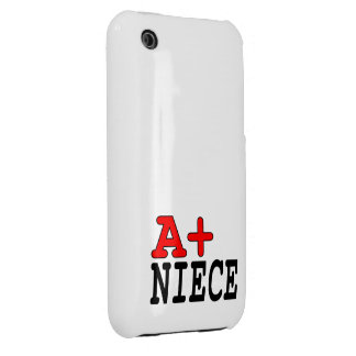 Funny Gifts for Nieces : A+ Niece Case-Mate iPhone 3 Cases