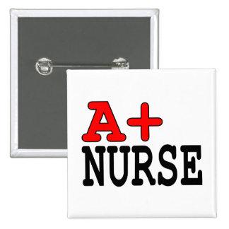 Funny Gifts for Nurses : A+ Nurse Button