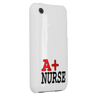 Funny Gifts for Nurses : A+ Nurse iPhone 3 Case-Mate Cases