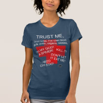 Funny Gifts for Nurses, Nurses scared of spiders T-Shirt
