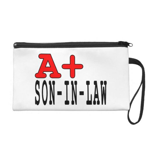 Funny Gifts for Sons in Law : A+ Son in Law Wristlet